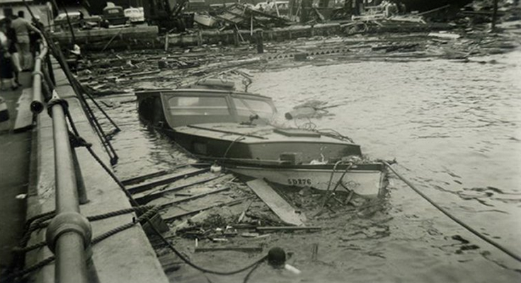 Hurricane Carol Newport