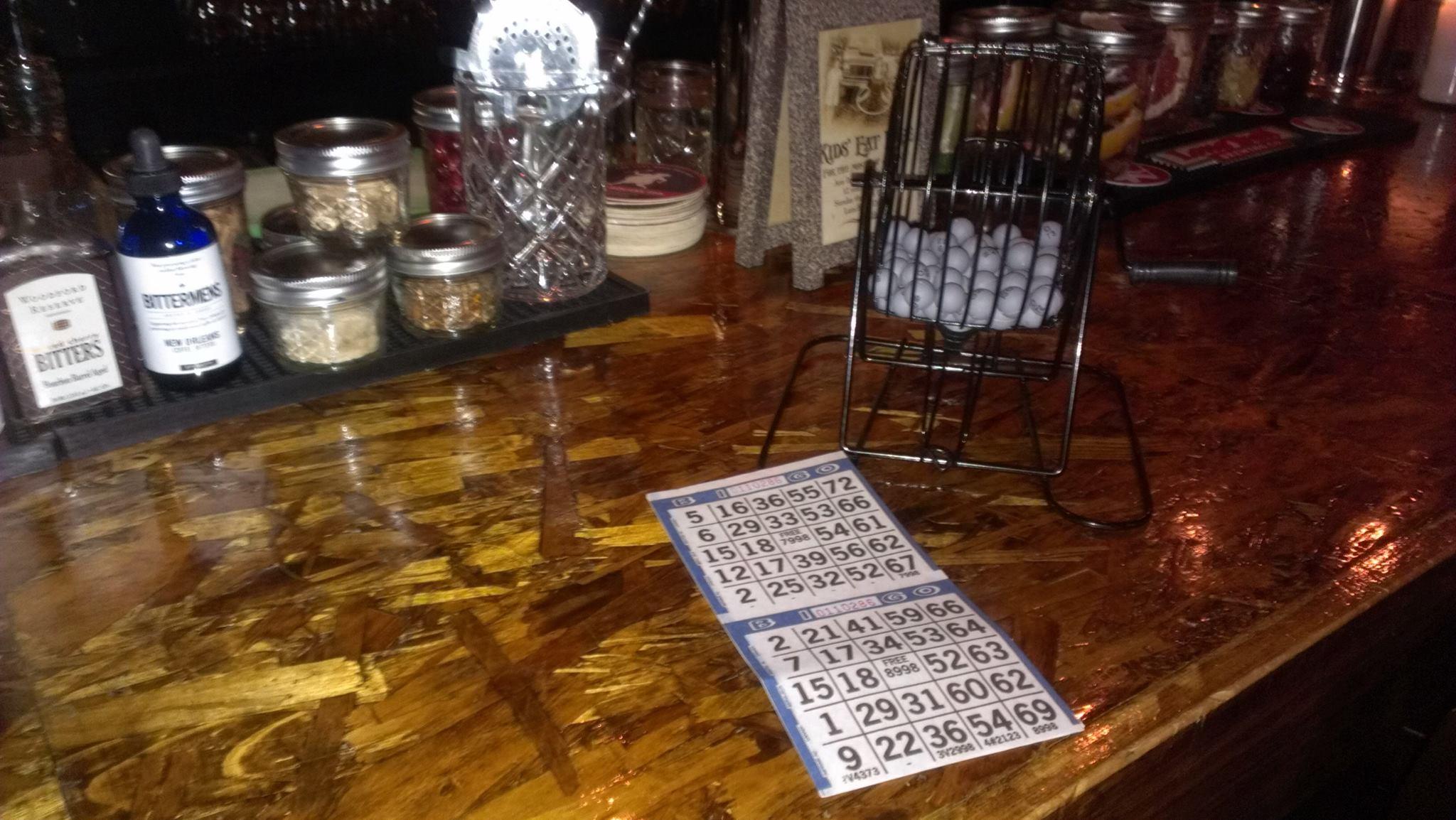 Wharf Pub Bingo
