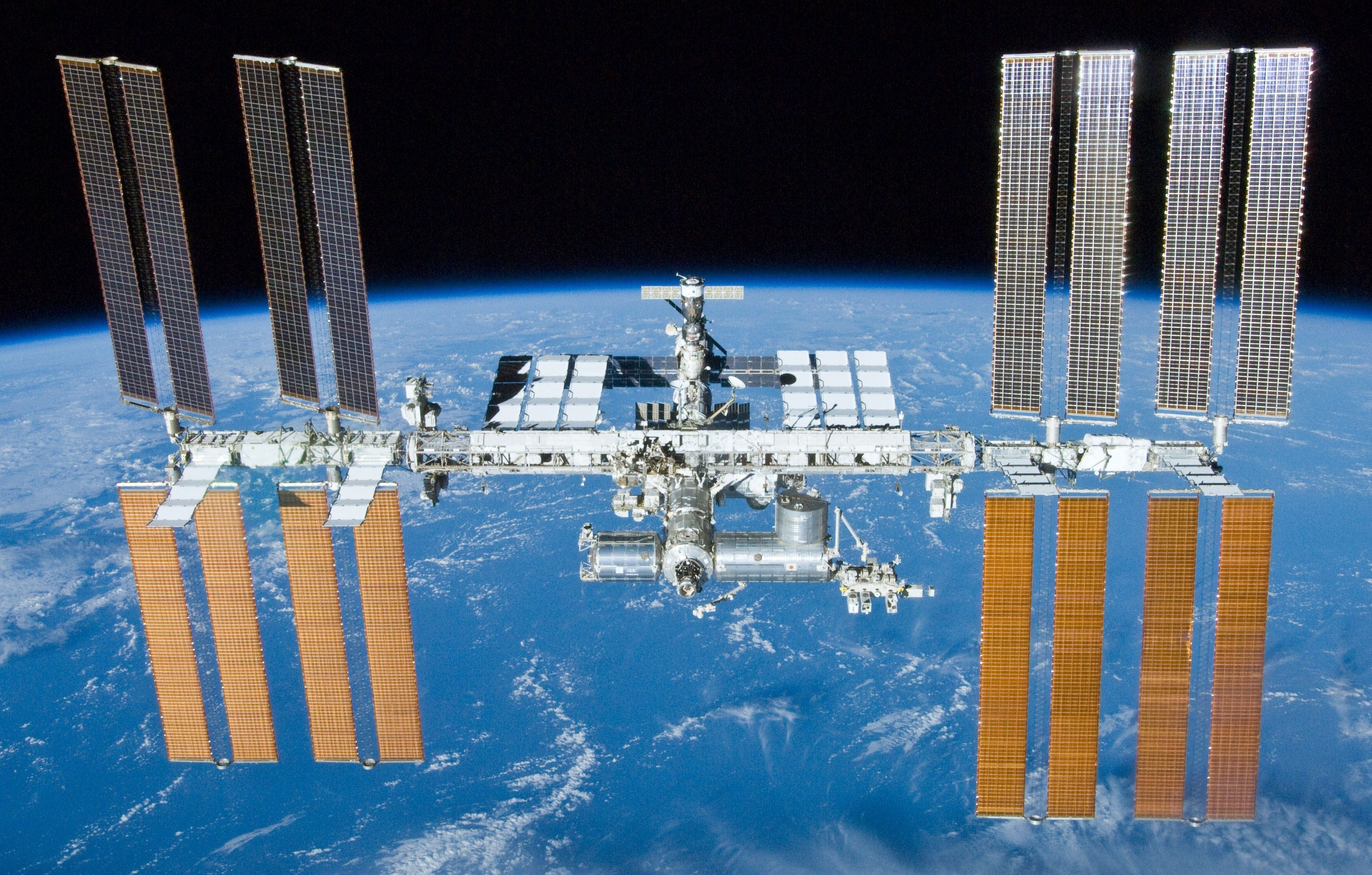 All Saints Steam Academy International_Space_Station_after_undocking_of_STS-132