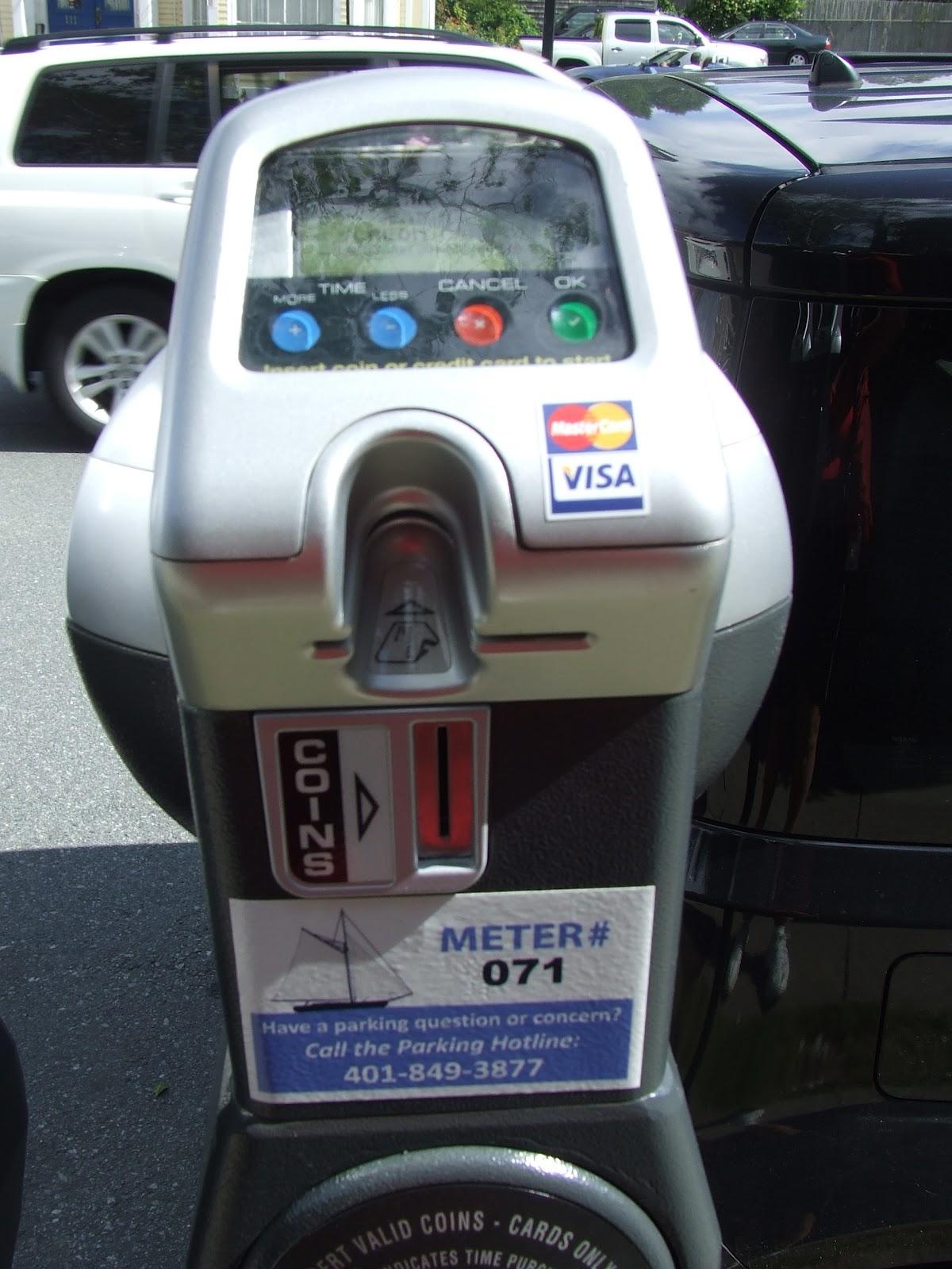 Parking Meter newport