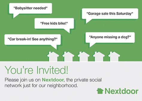 Nextdoor.com Invite
