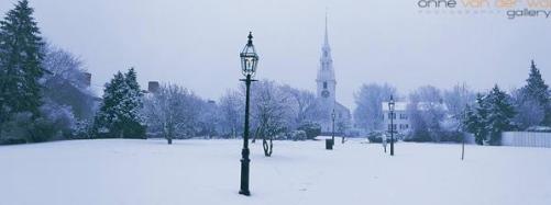 Trinity Church In Snow By Onne van der Wal