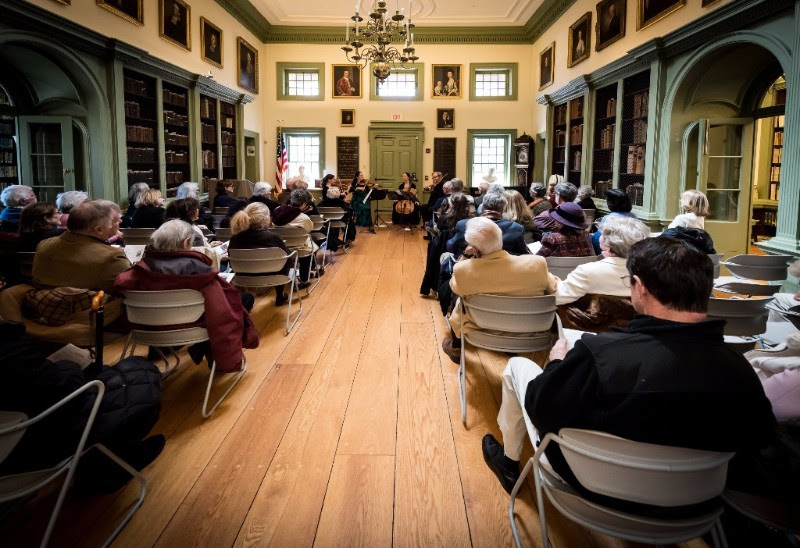 Newport String Project Will Host Concert At Redwood Library On