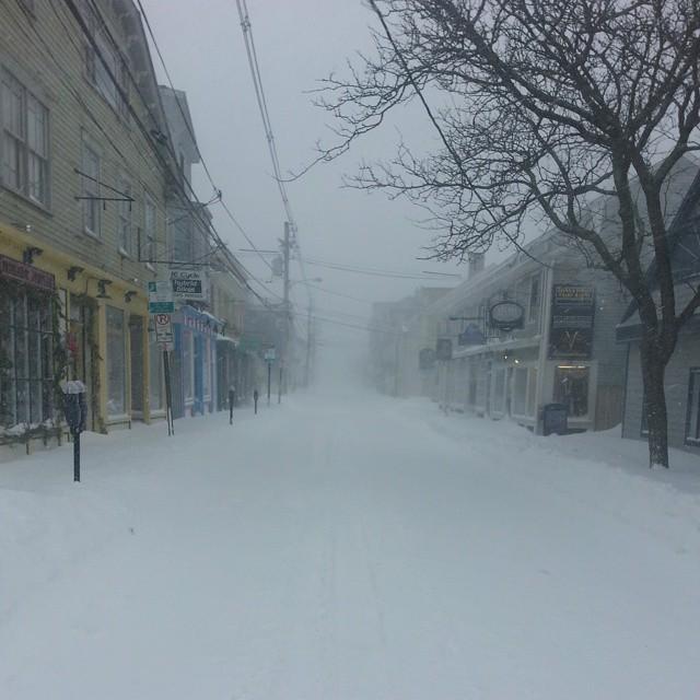 Newport Snow Storm
