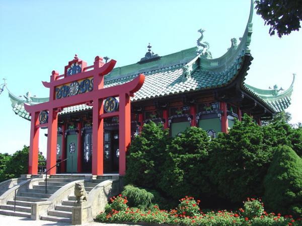 Chinese Tea House Newport county