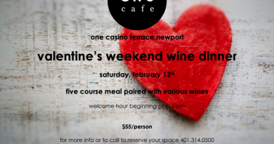 Cru Cafe and Vicker's Liquors Team Up For Valentine's Weekend Wine Dinner
