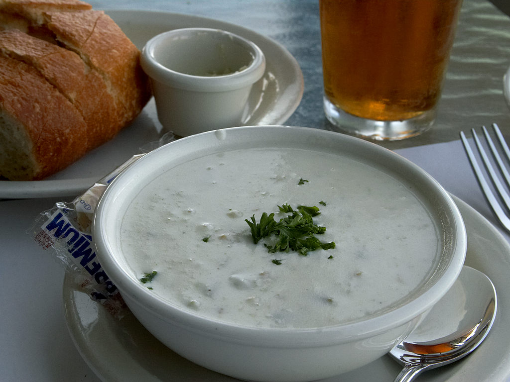 clam chowder newport ri
