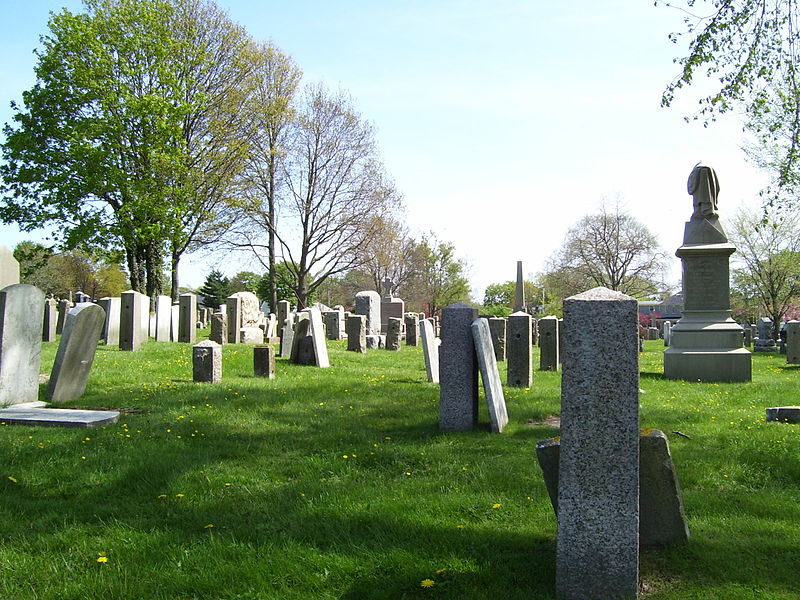 summary of the jewish cemetery at newport