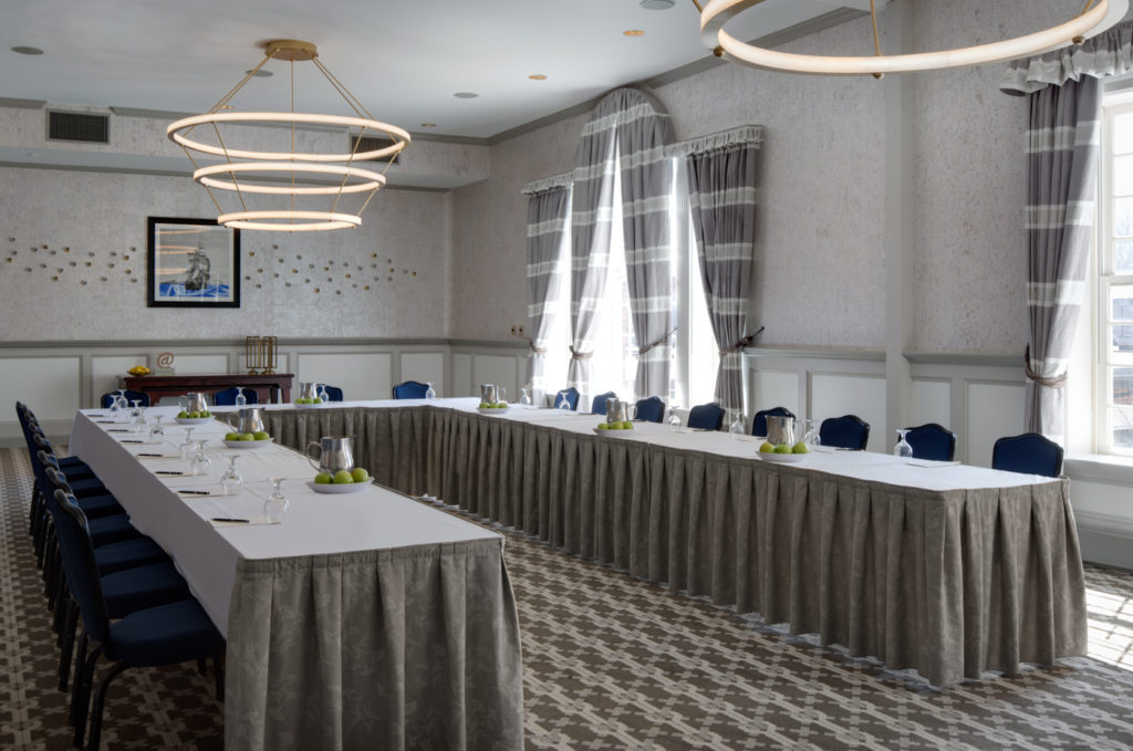 Natural light flows through floor-to-ceiling windows in many of Hotel Viking's meeting and boardrooms.Natural light flows through floor-to-ceiling windows in many of Hotel Viking's meeting and boardrooms.