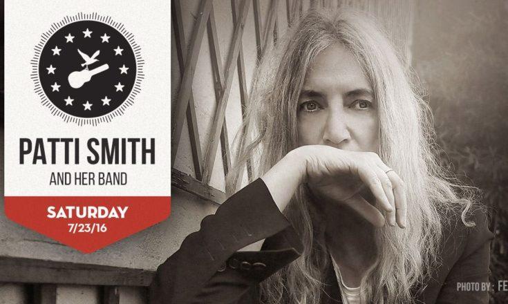 Newport Folk Festival Patti Smith