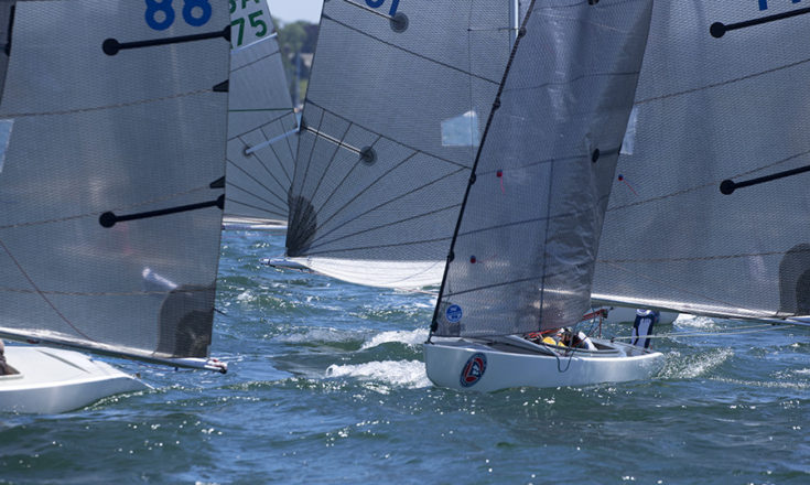 2.4mR downwind Clagett 2016 credit Clagett regatta-Billy Black