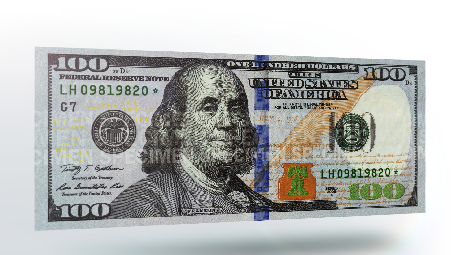 warning fake 100 bill passed in downtown newport this