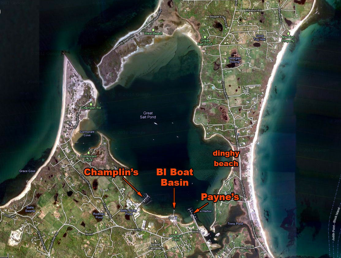 great salt pond block island