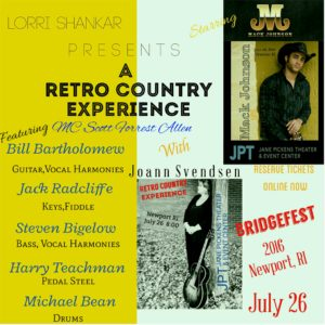 Live Retro Country Show @ JanePickensTheater and Event Center |  |  |