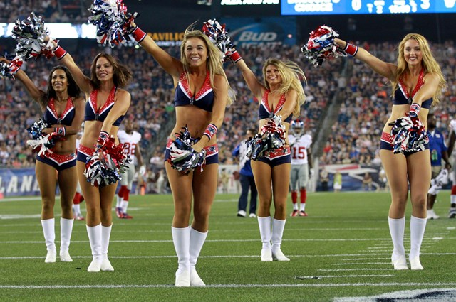 Football fans are invited to an autograph and photo opportunity with three  of the New England Patriots Cheerleaders ... 38e3783aa