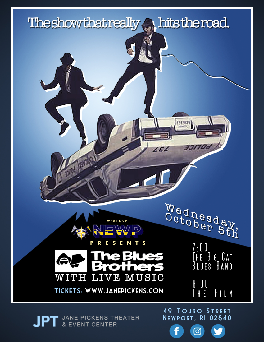 Jane Pickens Theater to Screen 'The Blues Brothers', Host