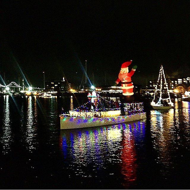 Newport Harbor Illuminated Boat Parade