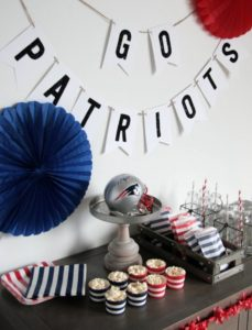 Patriot's Super Bowl Party