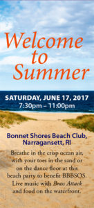 Welcome to Summer @ Bonnet Shores Beach Club  |  |  |