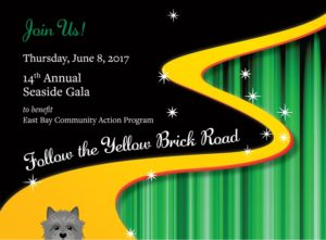 Follow the Yellow Brick Road to the 14th Annual Seaside Gala @ Castle Hill Inn |  |  |
