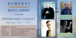 Newport Contemporary Music Series- Opening Night @ Rogers Auditorium  |  |  |