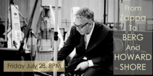 From Zappa to Berg & Howard Shore: Newport Contemporary Music Series @ Rogers Auditorium  |  |  |