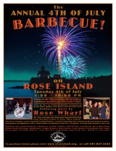 The Annual 4th of July Barbecue on Rose Island @ Rose Island |  |  |