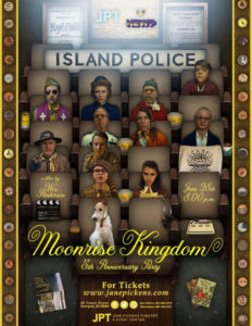 Moonrise Kingdom 5th Anniversary Party @ Jane Pickens Theater |  |  |