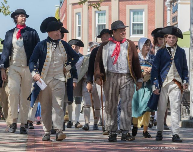 Newport Historical Society's Largest Reenactment to Date Will Focus