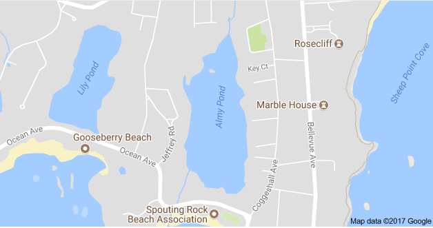 RIDOH and DEM are advising people to avoid contact with Almy Pond due to a blue-green algae - What'sUpNewp