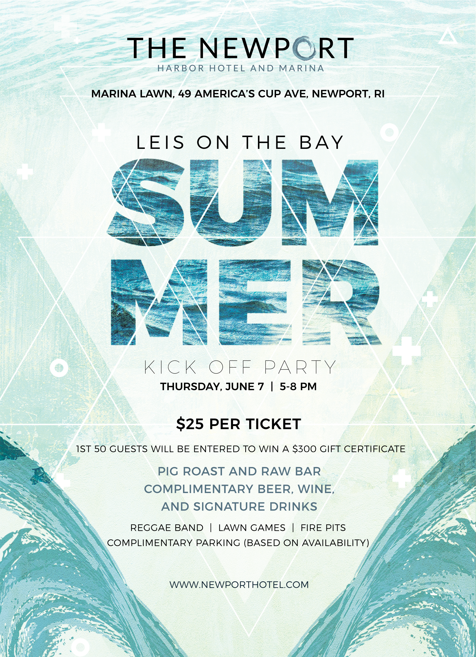 The Newport Hotel and Marina invites public to join them for summer ...