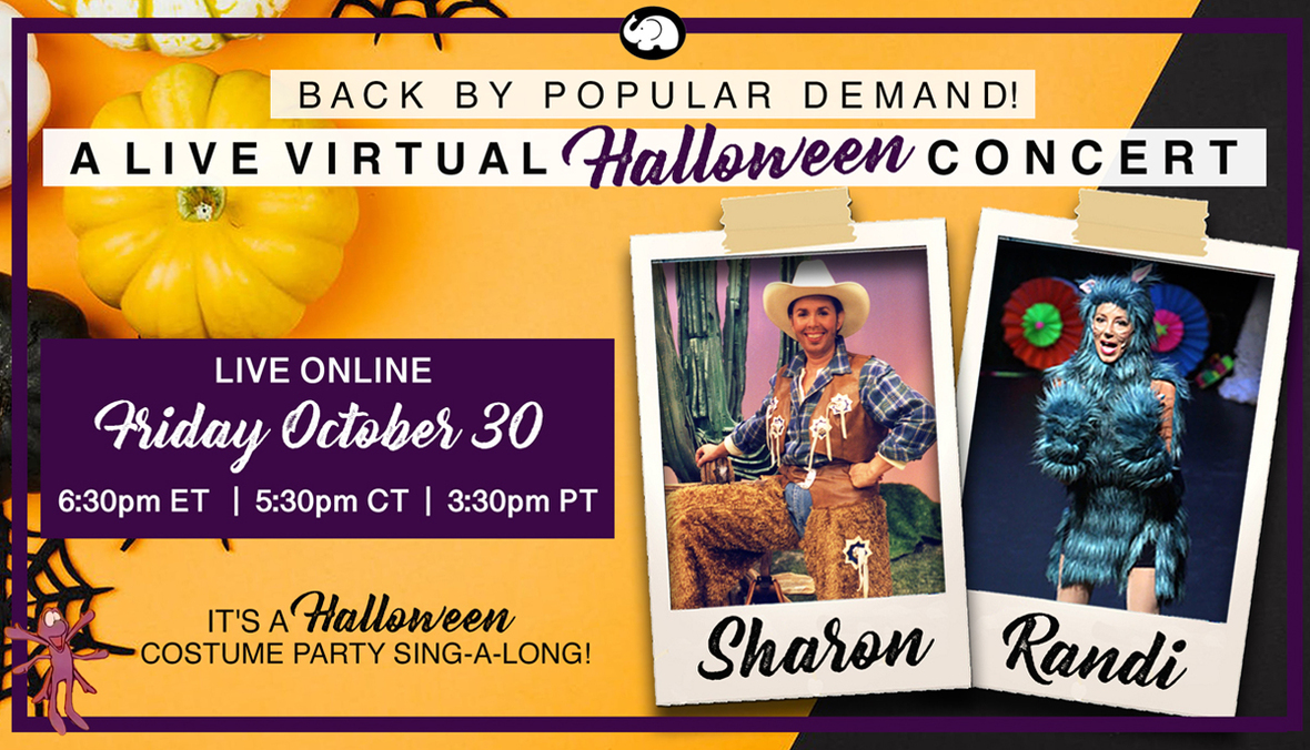 When Will Halloween 2020 Be On Demand Friday Family Fun for Halloween: SKINNAMARINK with Sharon and Randi Oct